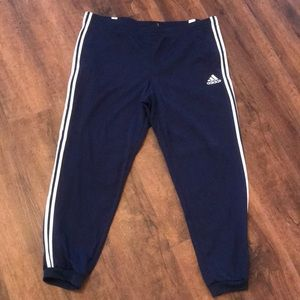 Adidas Climate Warm Navy Jogger Sweatpants